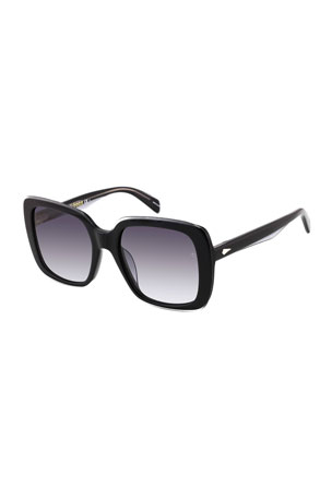 Rag & Bone Square Acetate Sunglasses