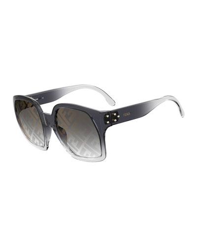 Optyl Square Sunglasses w/ FF Lenses