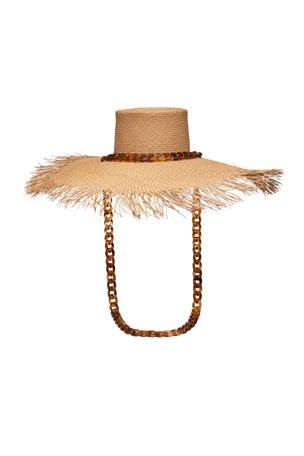 Medium Chain Detailed Hat