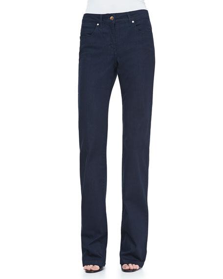 Boot-Cut Denim Jeans