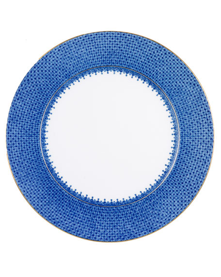 Mottahedeh Blue Lace Charger Plate