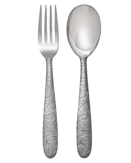 Michael Aram Forest Leaf Servers, 2-Piece Set