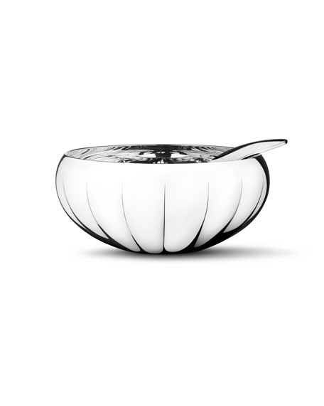 Georg Jensen Legacy Bowl with Spoon