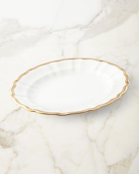 Royal Crown Derby Carlton Gold Medium Platter
