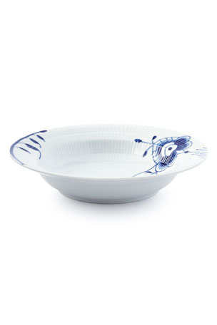 Royal Copenhagen Blue Fluted Mega Rim Soup
