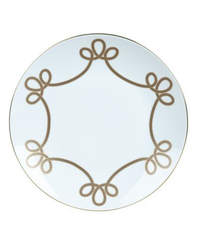 Brandenbourg Gold Dinner Plate