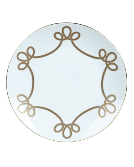 Haviland Brandenbourg Gold Dinner Plate