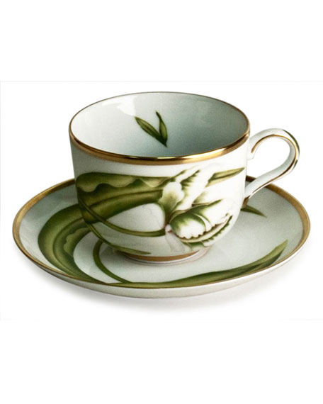 White Tulips Teacup
