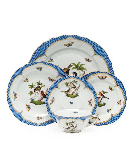 Rothchilds Bird Blue Salad Plate