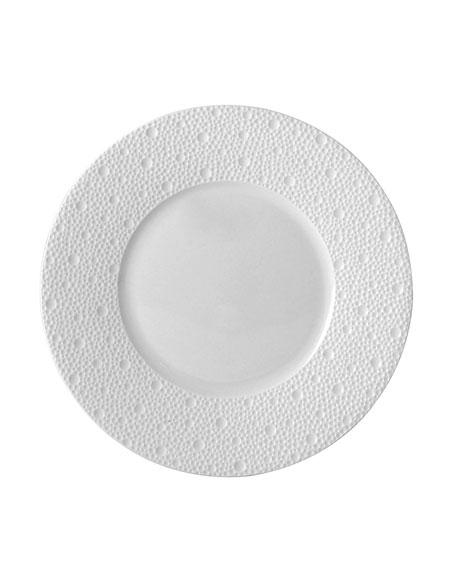 Ecume White Salad Plate