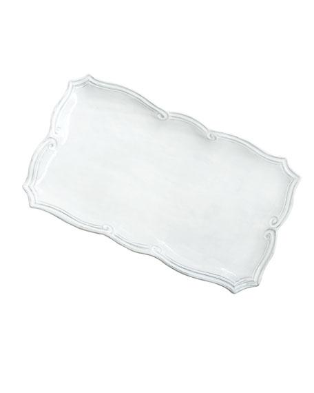 Incanto White Baroque Platter