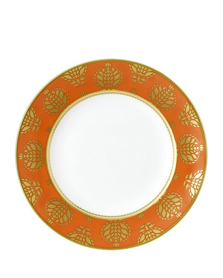 Bristol Belle Orange Border Salad Plate