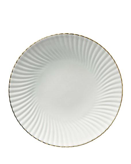 Alantide Gold Salad Plate