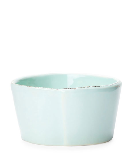Vietri Lastra Aqua Condiment Bowl
