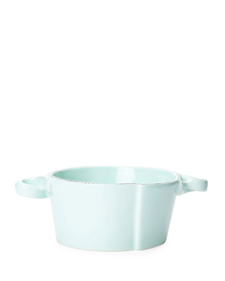 Lastra Aqua Small Handled Bowl