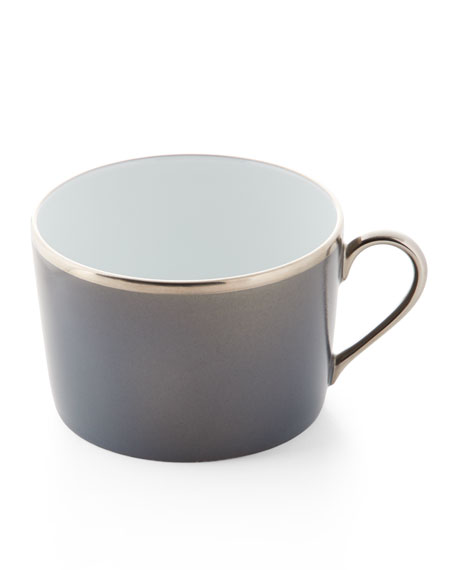 Haviland Color Block Gray/Platinum Cup