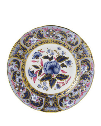 Blue Camellias Accent Plate