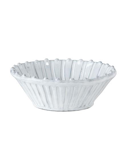 Incanto White Stripe Cereal Bowl