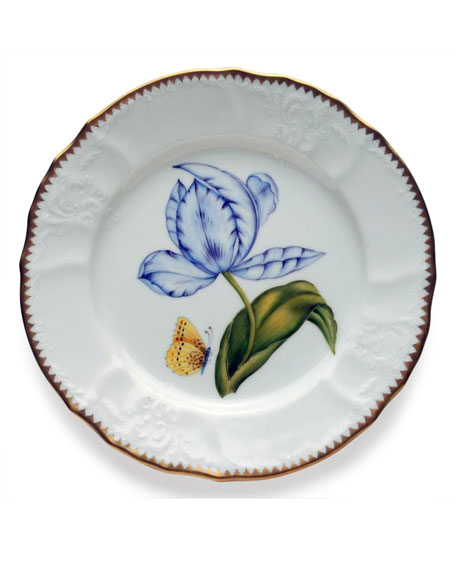 Anna Weatherley Old Master Tulips Salad Plate and