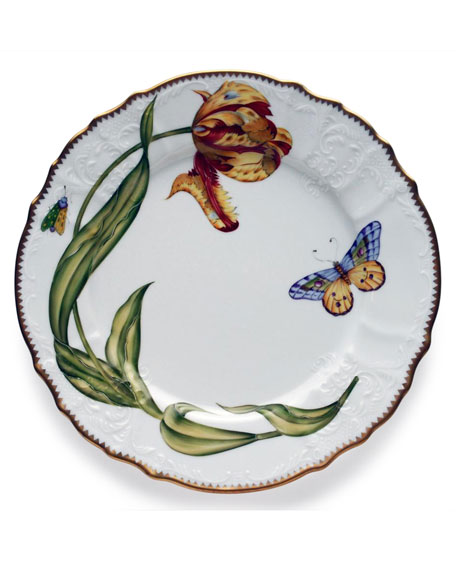 Anna Weatherly Old Master Tulips Dinner Plate