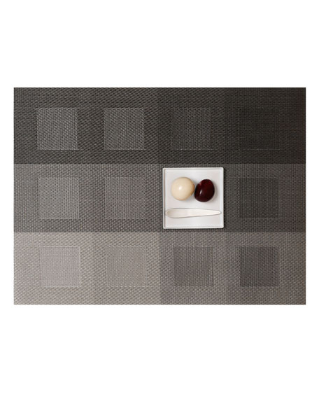 Chilewich Engineered Squares Steel Placemat