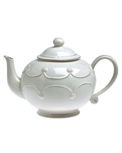Berry & Thread White Teapot