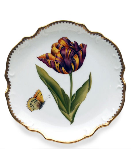 Old Master Tulips Bread & Butter Plate