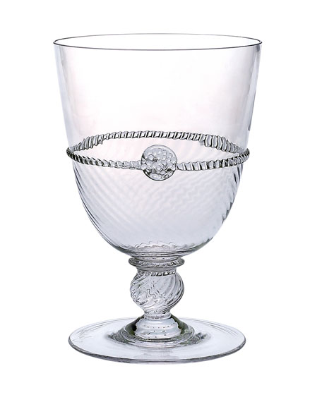 Graham Clear Footed Goblet