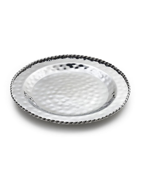 "Paloma Serving Tray, 13.5""Dia."
