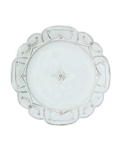 Jardins Du Monde White Dinner Plate
