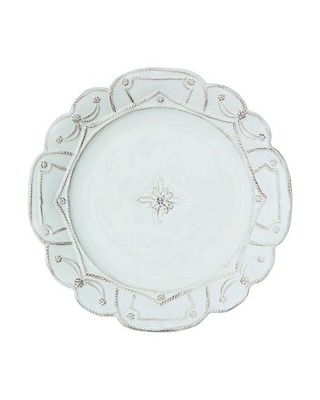 Jardins du Monde Whitewash Dinner Plate