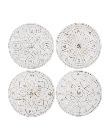 Juliska Jardins du Monde Canape Plates, Set of