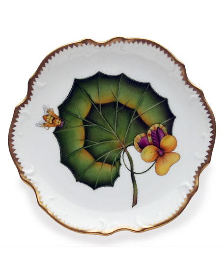 Anna Weatherly Treasure Garden Salad Plate and Matching
