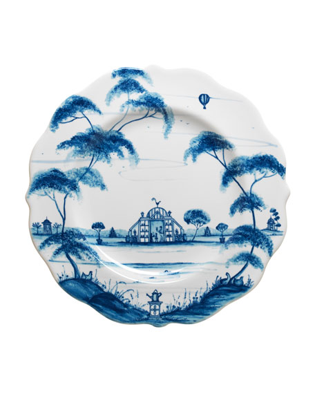 Juliska Country Estate Delft Blue Salad/Dessert Plate