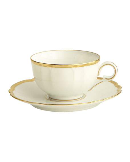 Colette Gold Cup and Saucer