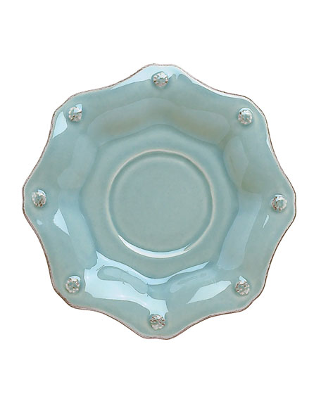 Juliska Berry & Thread Ice Blue Scallop Saucer