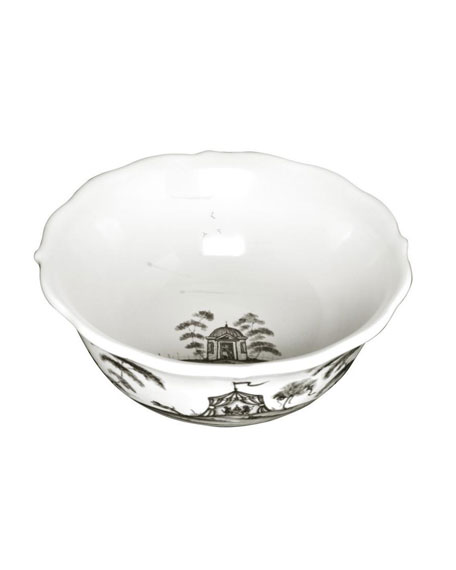 Juliska Country Estate Flint Cereal/Ice Cream Bowl Hen