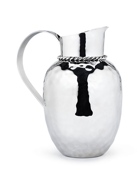 "Paloma 9.5"" Pitcher with Braided Wire"