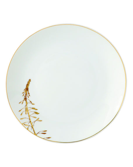 Bernardaud Vegetal Gold Salad Plate and Matching Items