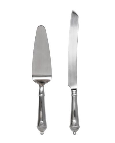 Berry & Thread Cake Knife/Server Set
