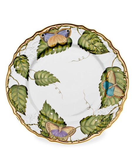 Anna Weatherley Exotic Butterflies Dinner Plate