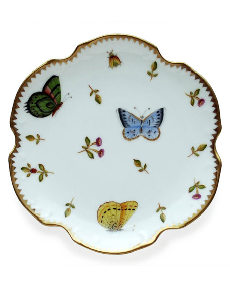 Anna Weatherly Spring in Budapest Salad Plate and
