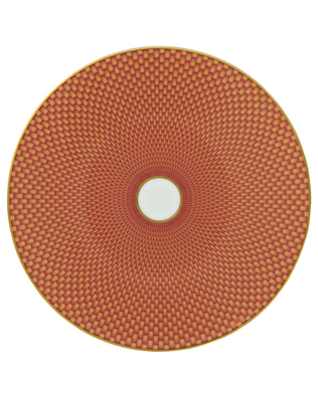Tresor Orange Dessert Plate
