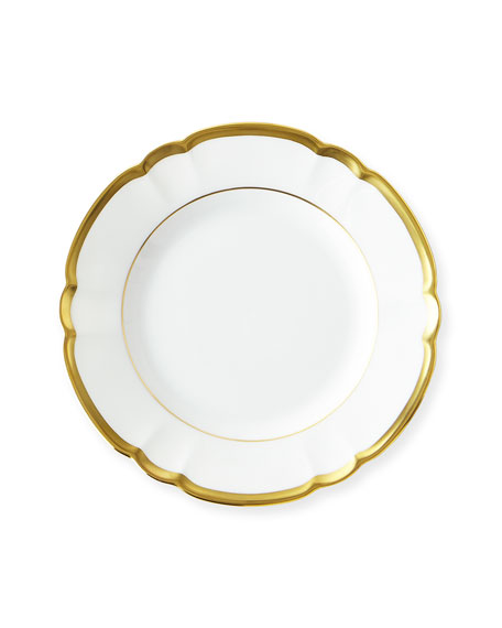 Haviland & Parlon Colette Gold Bread & Butter