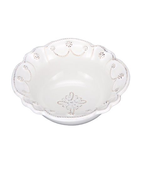 Juliska White Jardins du Monde Cereal Bowl