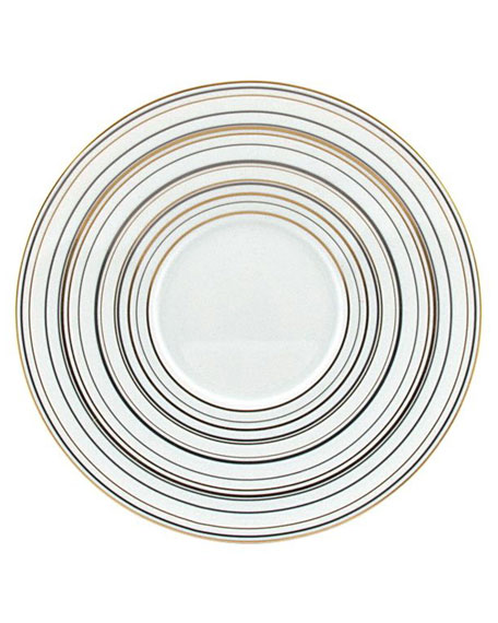 Attraction Gold Bread & Butter Plate