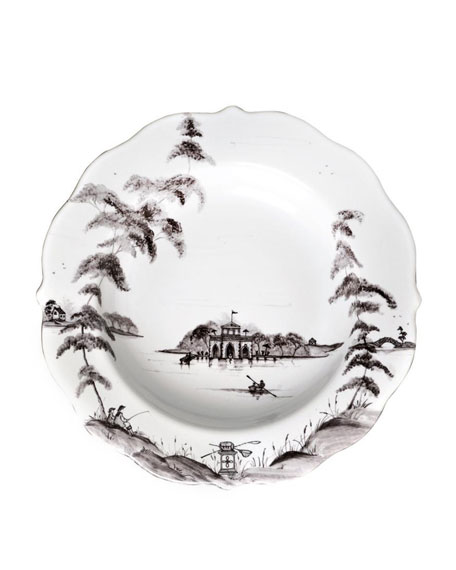 Juliska Country Estate Flint Pasta/Soup Bowl Boathouse