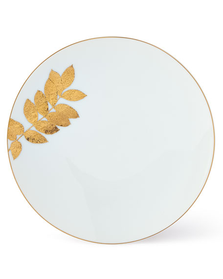 Bernardaud Vegetal Gold Salad Plate