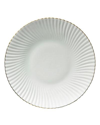 Atlantide Gold Dinner Plate