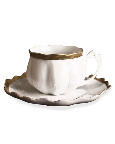 Anna Weatherley Golden Patina Teacup & Saucer